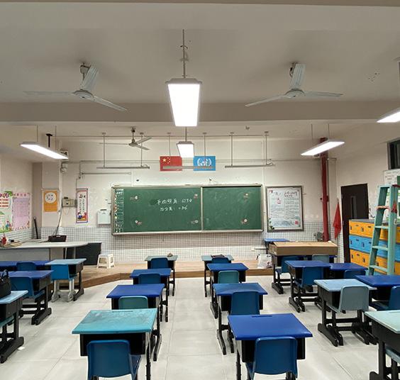重庆市LED教室灯案例