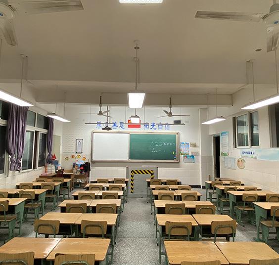 成都市LED教室灯案例