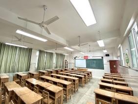 东莞市莞城中心小学LED护眼灯改造
