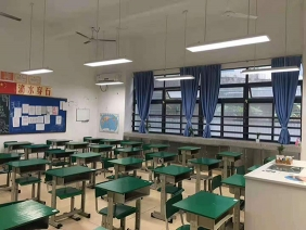 邢台市育红小学LED护眼灯改造