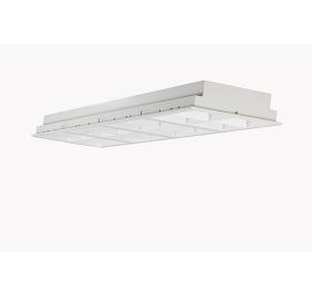 晶宏照明LED格栅灯安装方法