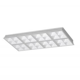 如何快速识别LED格栅灯面板的质量?
