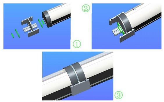 LED三防灯安装图